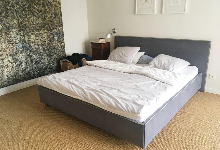 Anfertung Bett und Kopfteil